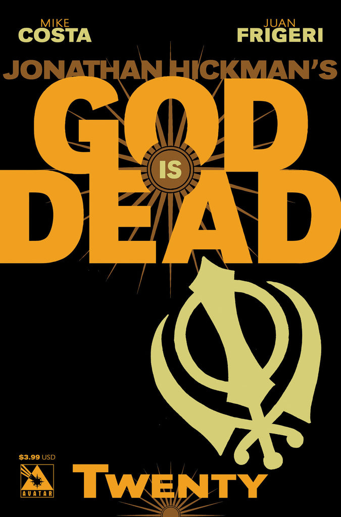 GOD IS DEAD #20 - Digital Copy