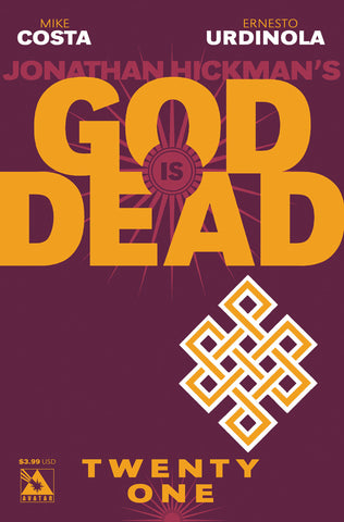 GOD IS DEAD #21 - Digital Copy