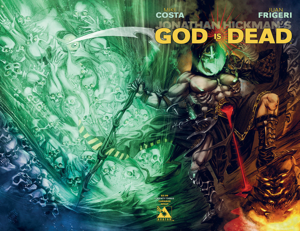 GOD IS DEAD #23 Carnage Wraparound