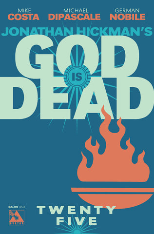 GOD IS DEAD #25 - Digital Copy