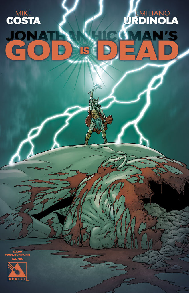 GOD IS DEAD #27 Iconic