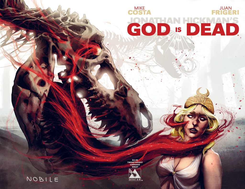 GOD IS DEAD #28 Carnage Wraparound