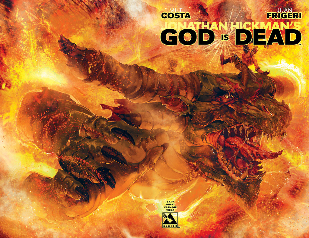 GOD IS DEAD #30 Carnage Wraparound