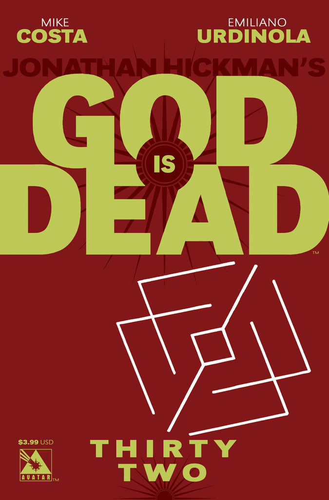 GOD IS DEAD #32 - Digital Copy