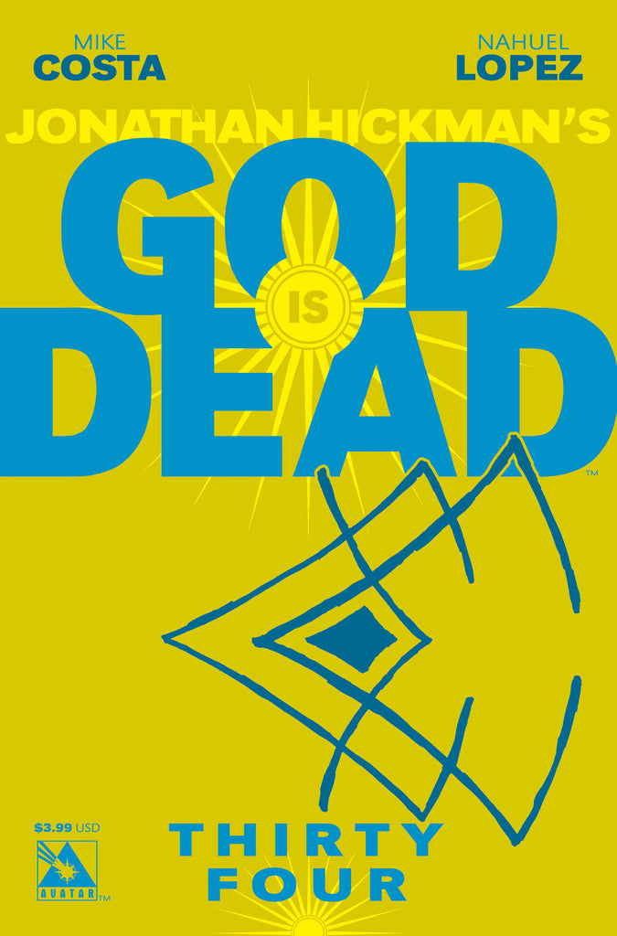 GOD IS DEAD #34 - Digital Copy