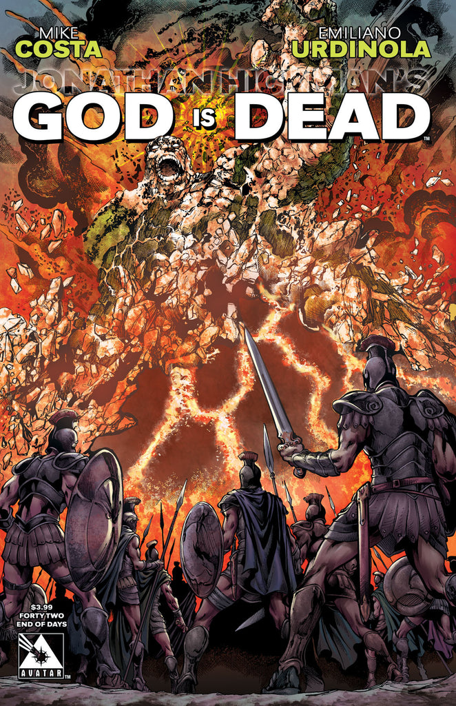 GOD IS DEAD #42 End of Days