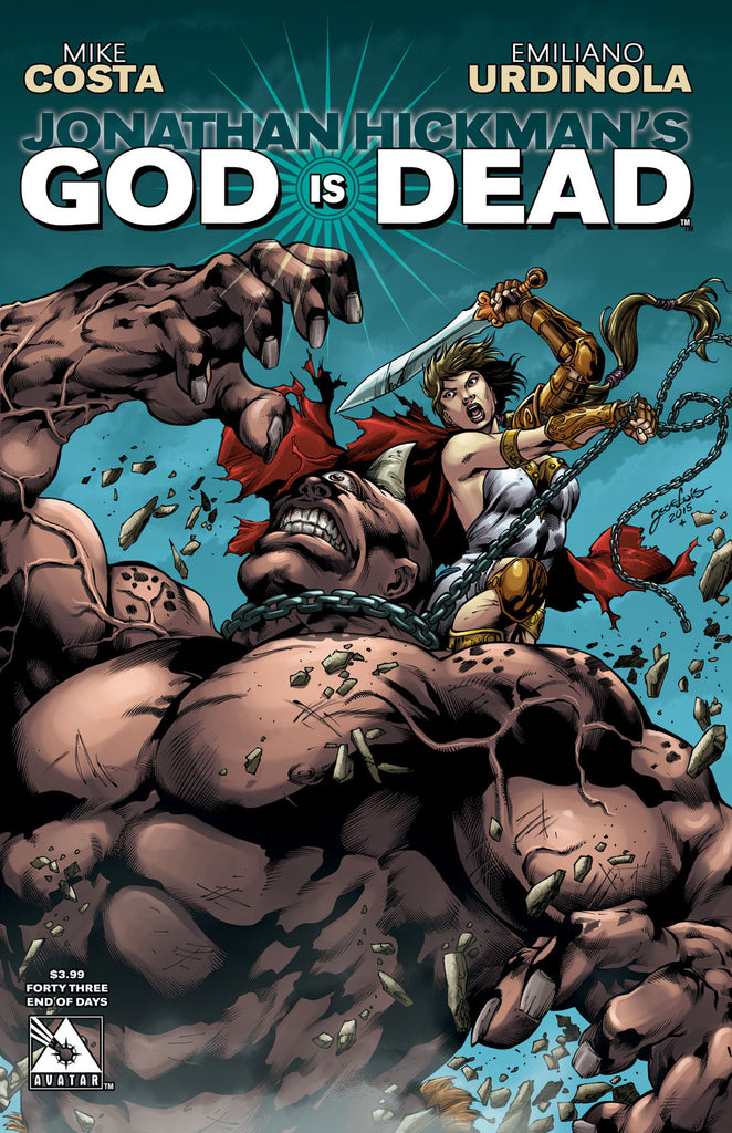 GOD IS DEAD #43 End of Days