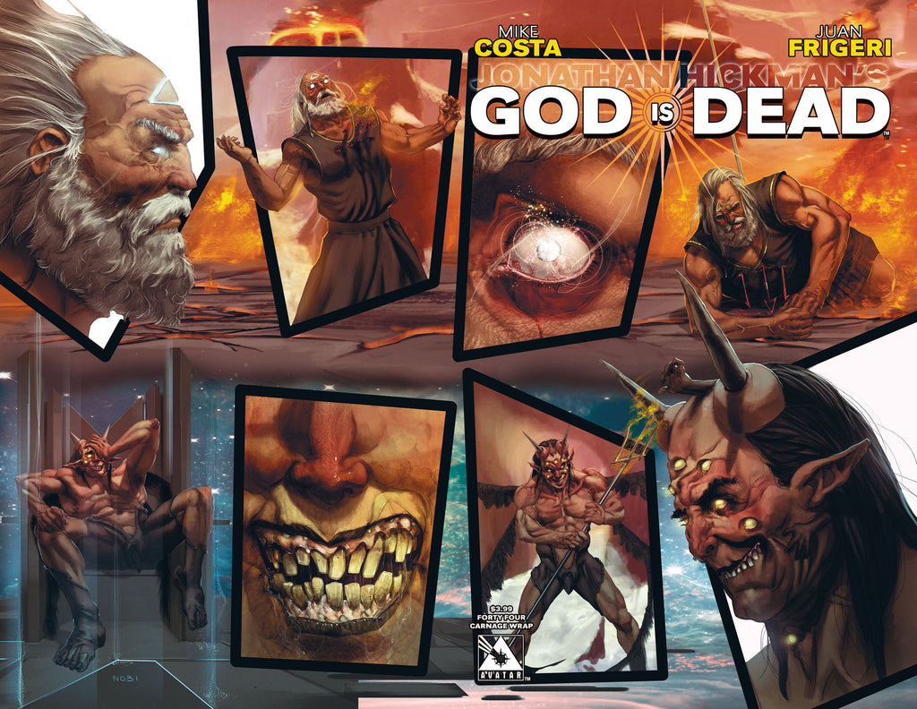 GOD IS DEAD #44 Carnage Wraparound