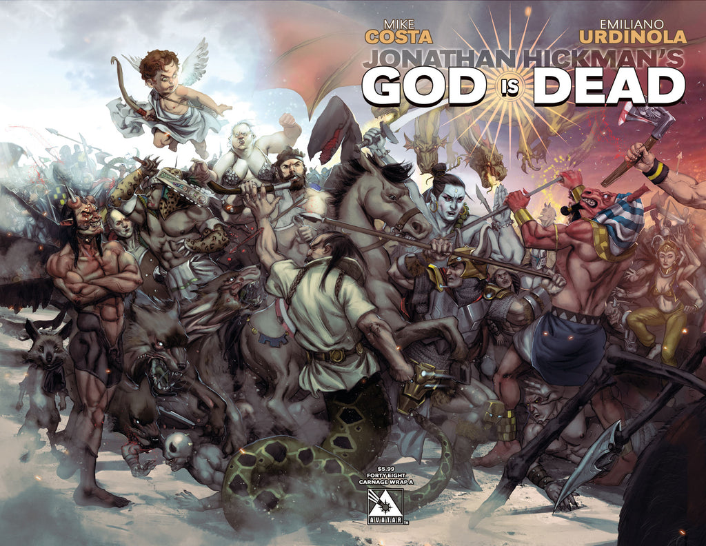 GOD IS DEAD #48 Connecting Wraparound A
