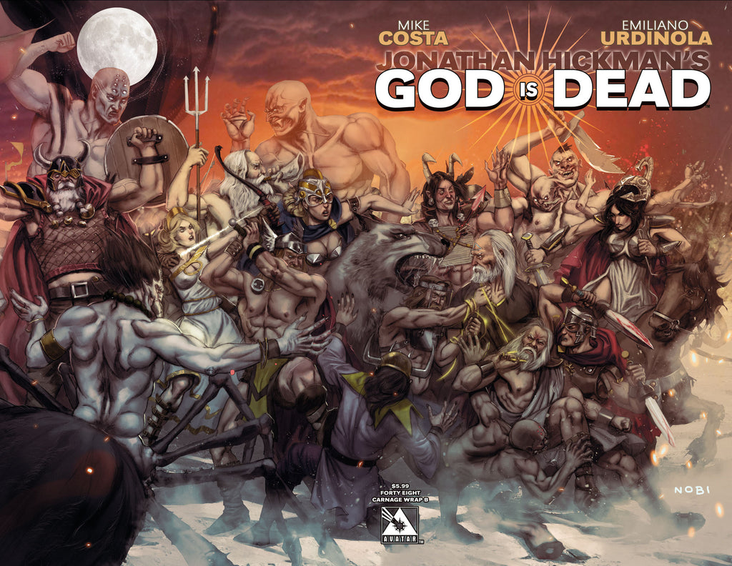 GOD IS DEAD #48 Connecting Wraparound B