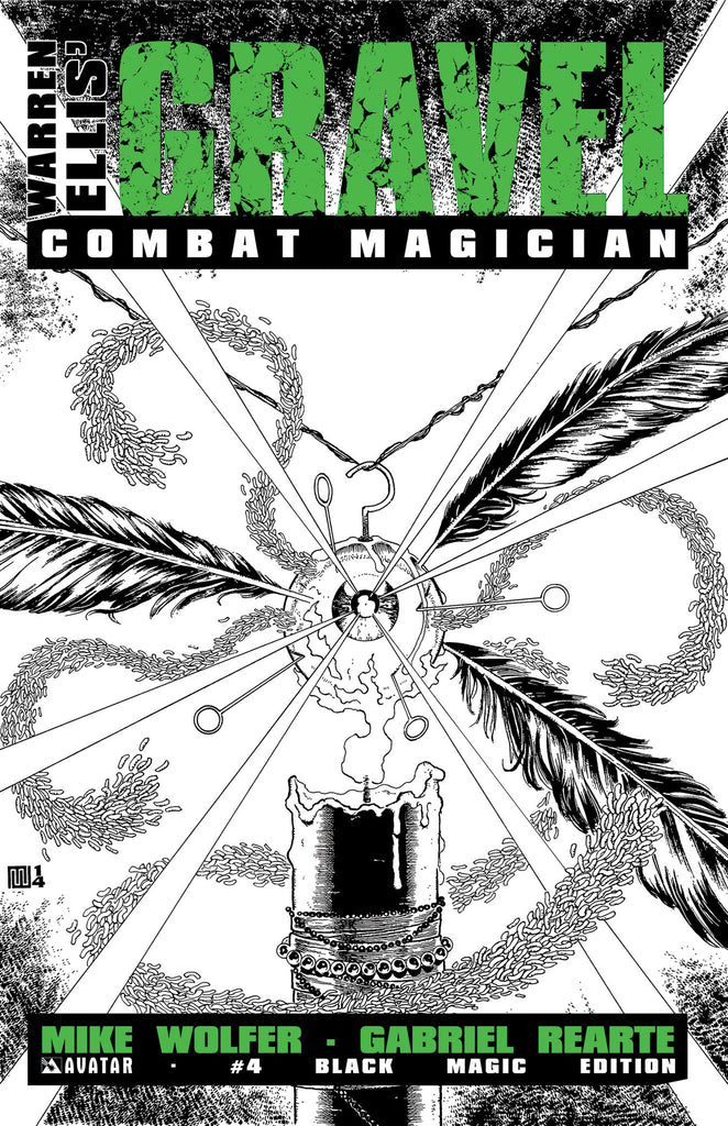 GRAVEL: COMBAT MAGICIAN #4 Black Magic