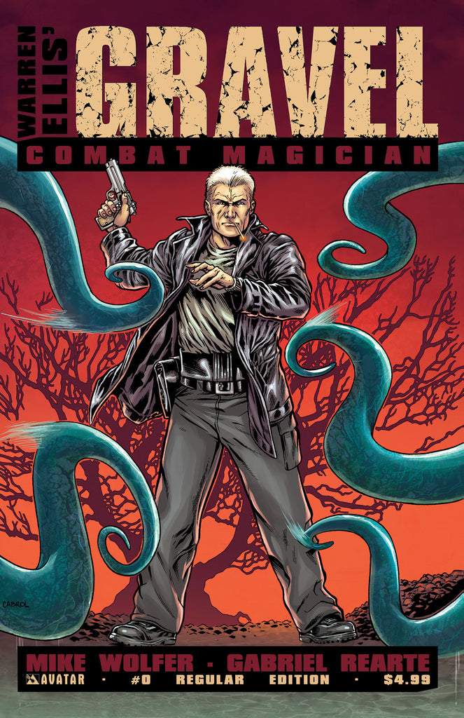 GRAVEL: COMBAT MAGICIAN #0 - Digital Copy