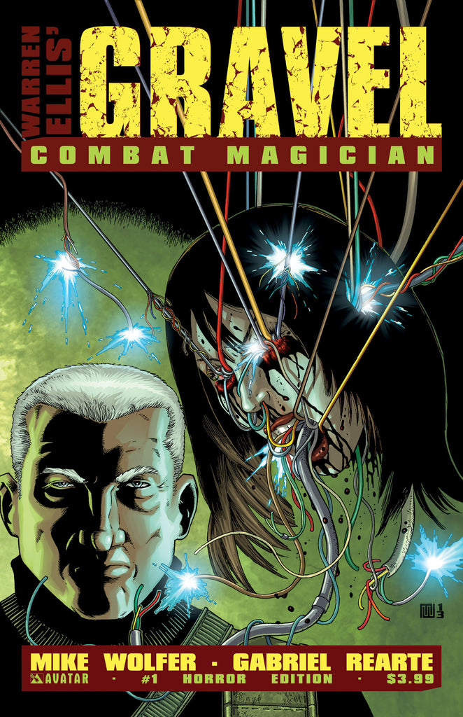 GRAVEL: COMBAT MAGICIAN #1 HORROR COVER