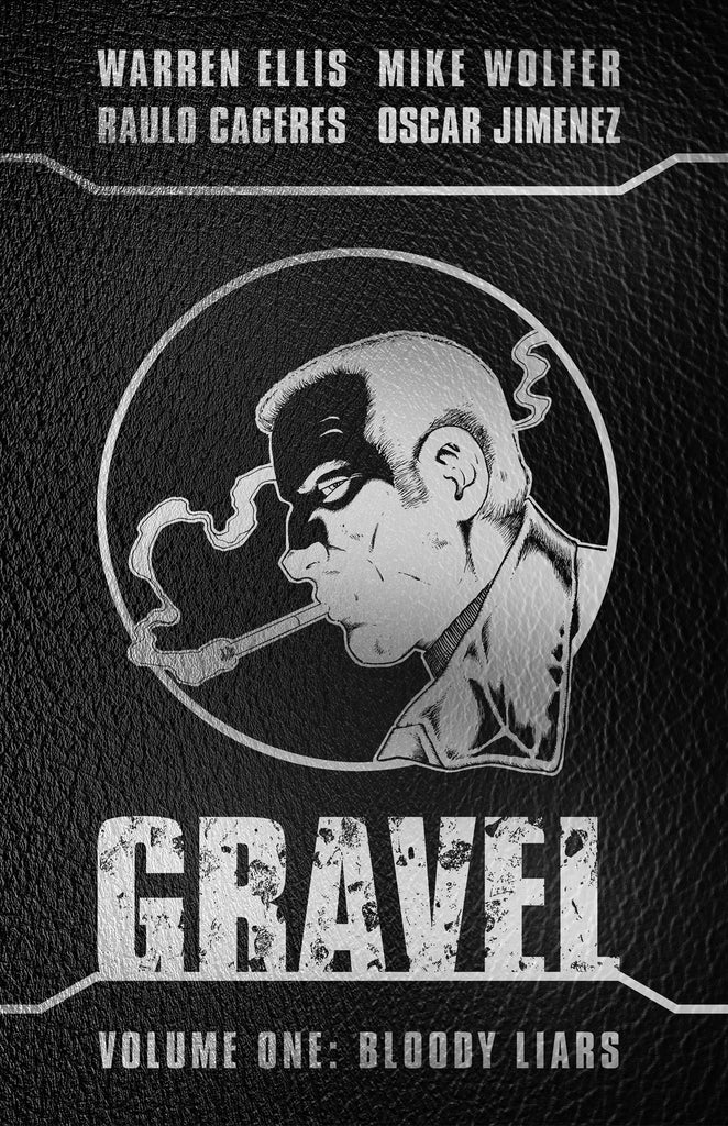 GRAVEL Vol 1 Signed Leather Hardcover