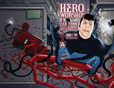 HERO WORSHIP #1 WRAPAROUND COVER