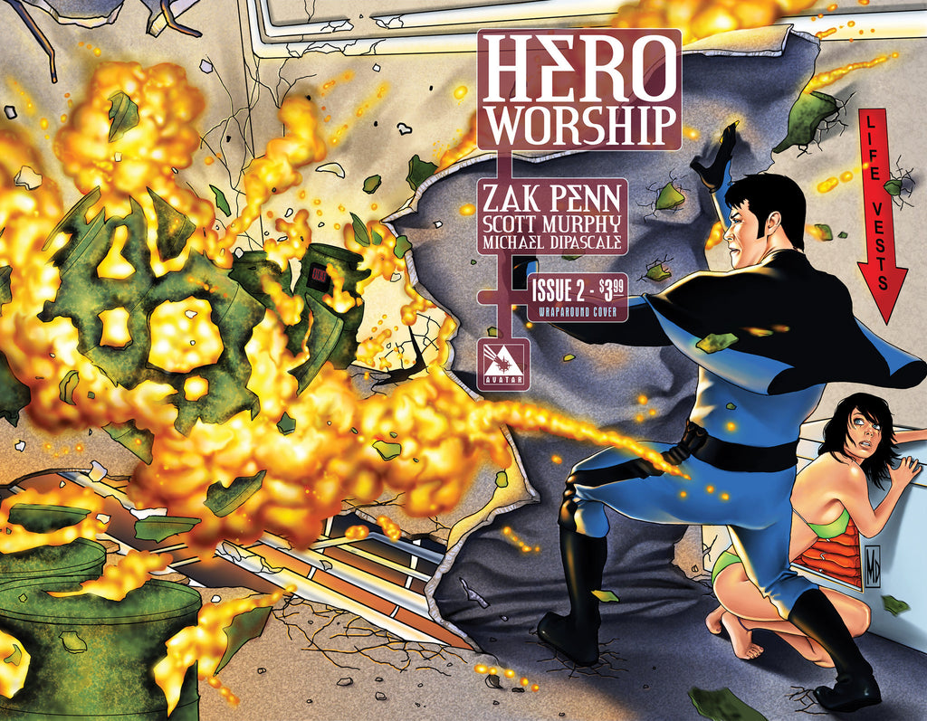 HERO WORSHIP #2 WRAPAROUND COVER
