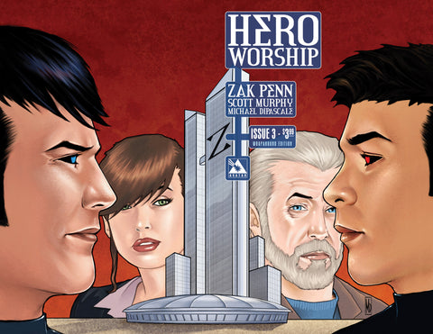 HERO WORSHIP #3 WRAPAROUND COVER