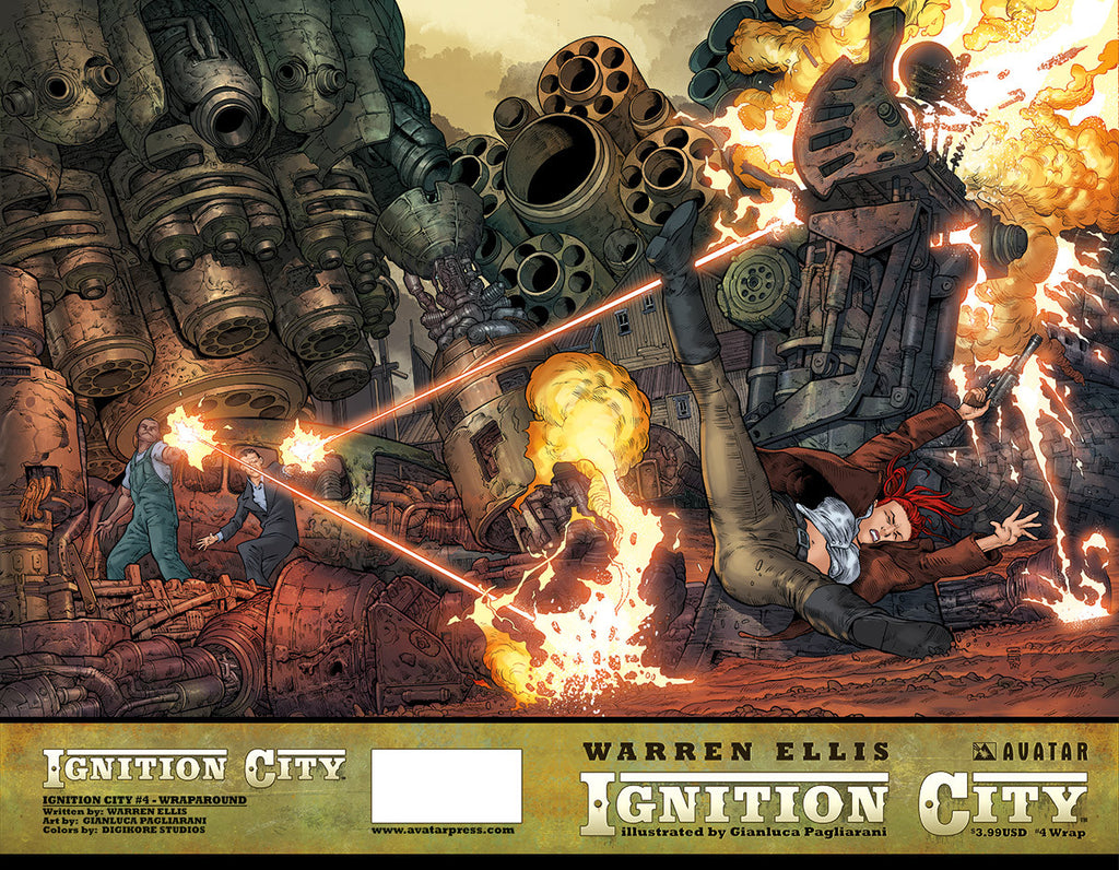 IGNITION CITY #4 Wraparound