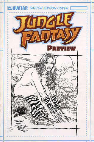 JUNGLE FANTASY: FAUNA $499 KS Original Art - Intense #1 Nocturnal