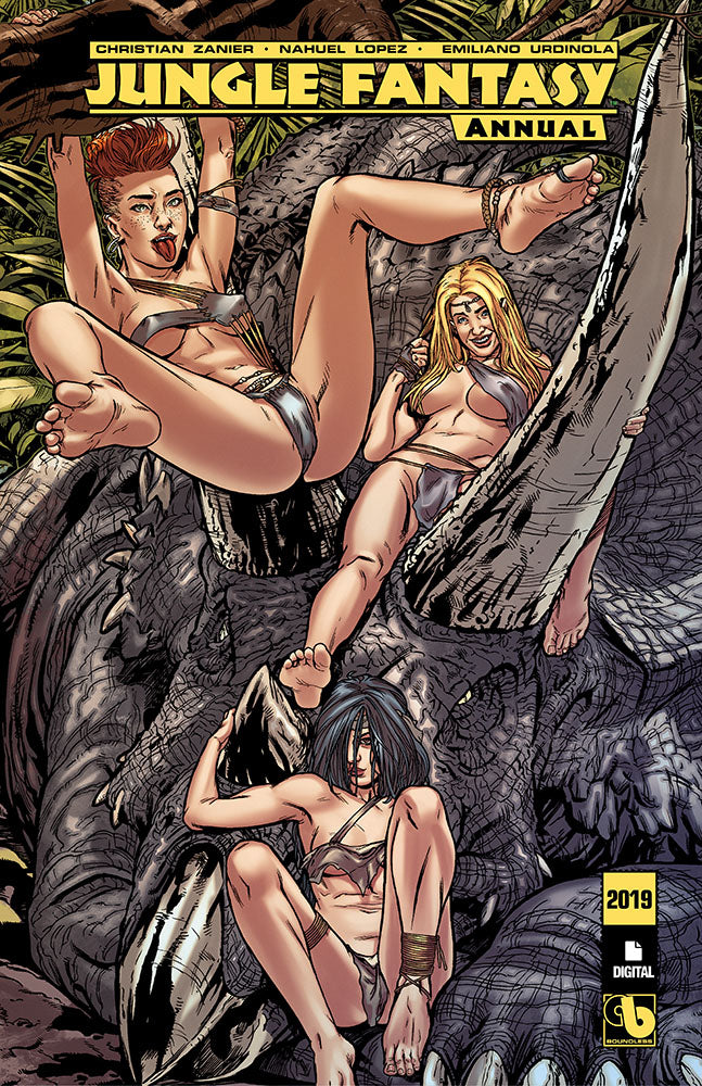 JUNGLE FANTASY ANNUAL 2019 - Digital copy