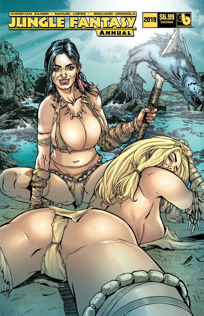 JUNGLE FANTASY ANNUAL 2019 Luscious