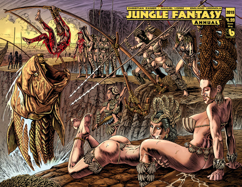 JUNGLE FANTASY ANNUAL 2019 Vixens Wraparound