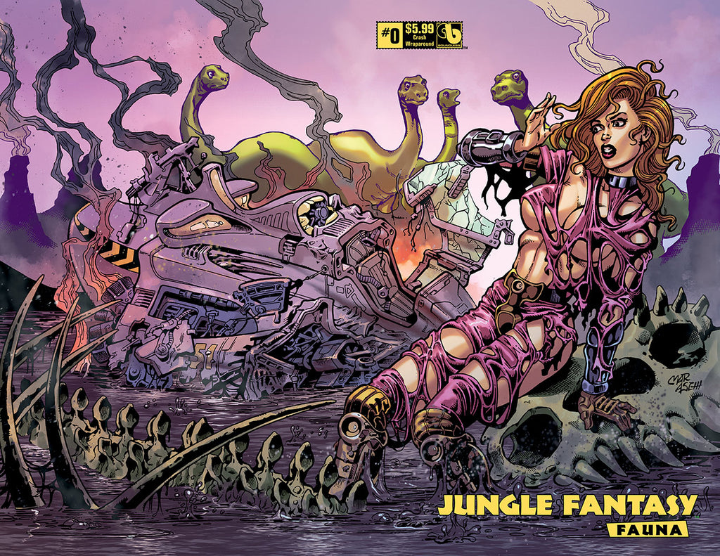 JUNGLE FANTASY: FAUNA #0 Crash Wraparound