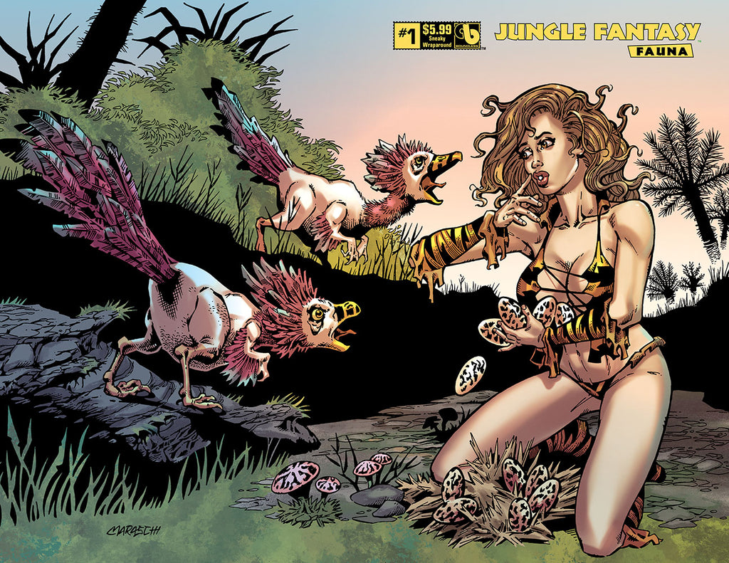 JUNGLE FANTASY: FAUNA #1 Sneaky Wraparound