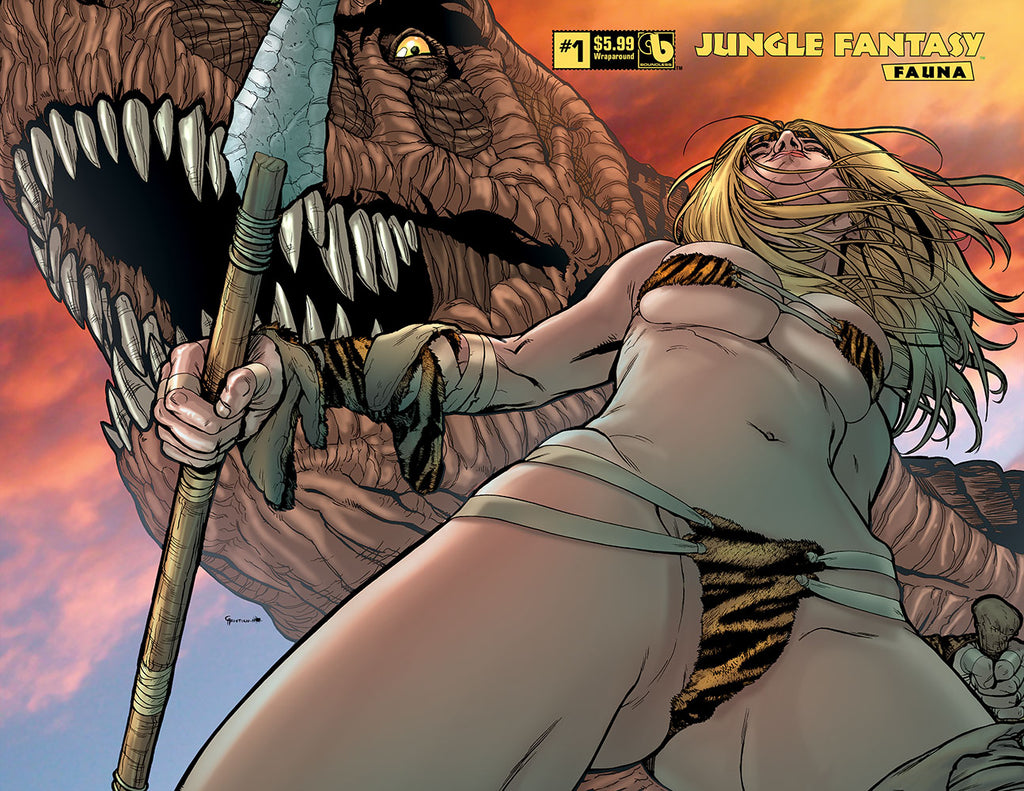 JUNGLE FANTASY: FAUNA #1 Wraparound