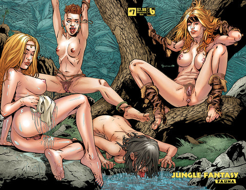 JUNGLE FANTASY: FAUNA #6, #7, #8 Just-the-nudes VIP Bundle (51 books)