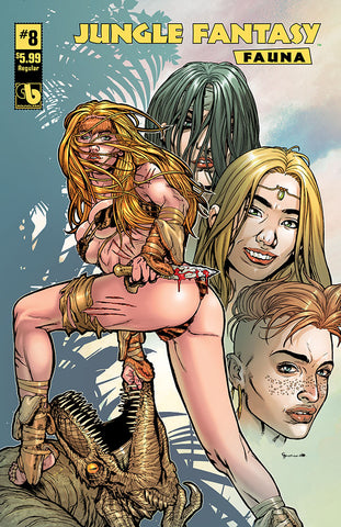 JUNGLE FANTASY: FAUNA #6, #7, #8  VIP Bundle (78 books)