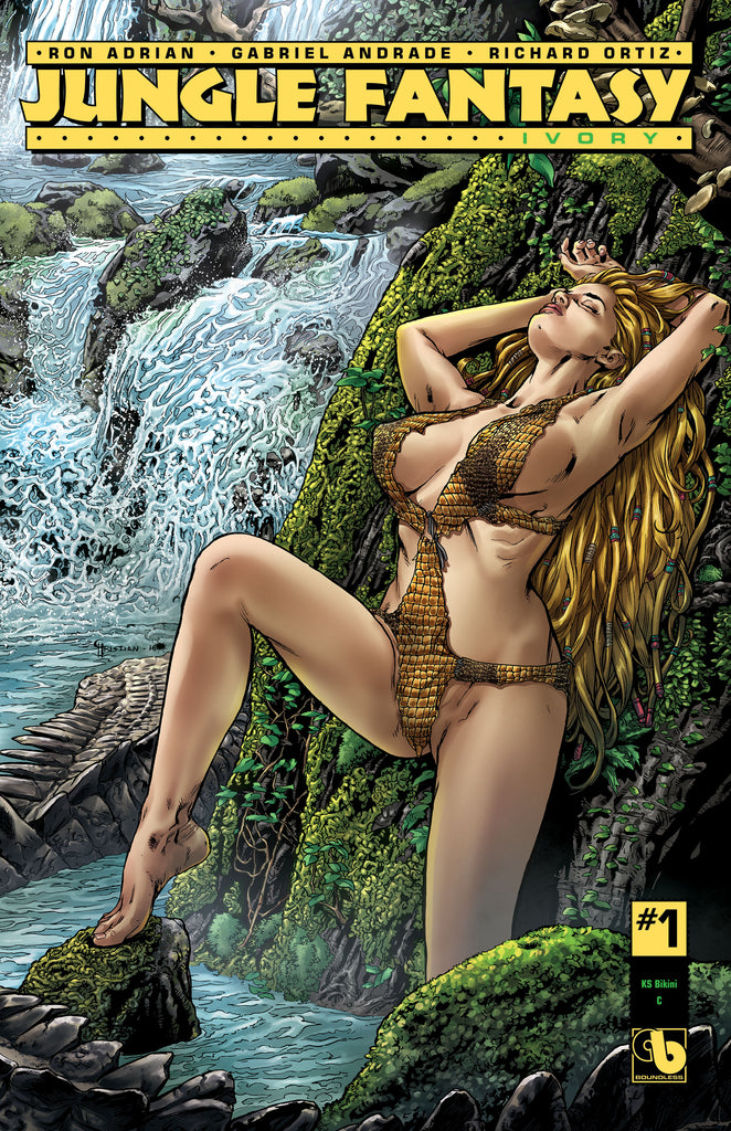 JUNGLE FANTASY: IVORY #1 Bikini Century- cover C