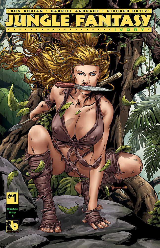 JUNGLE FANTASY: IVORY #1 KS Costume Change A