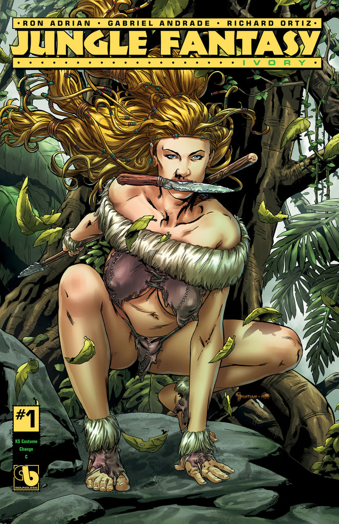 JUNGLE FANTASY: IVORY #1 KS Costume Change C