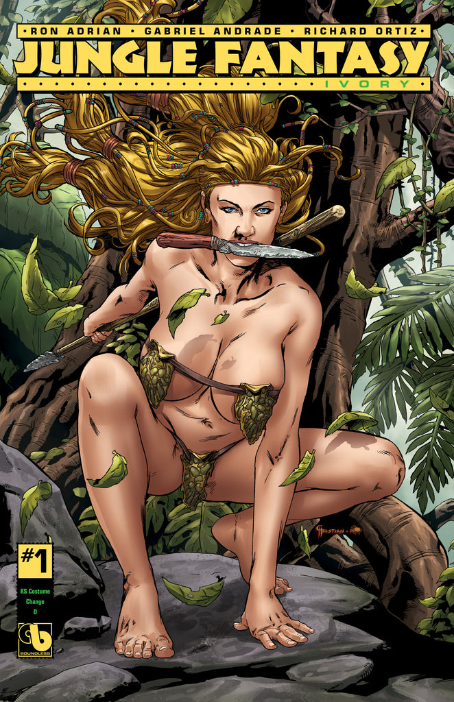 JUNGLE FANTASY: IVORY #1 KS Costume Change D