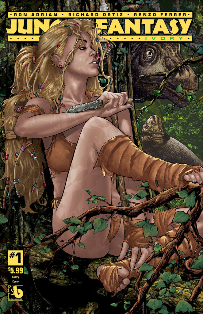 JUNGLE FANTASY: IVORY #1 Sultry