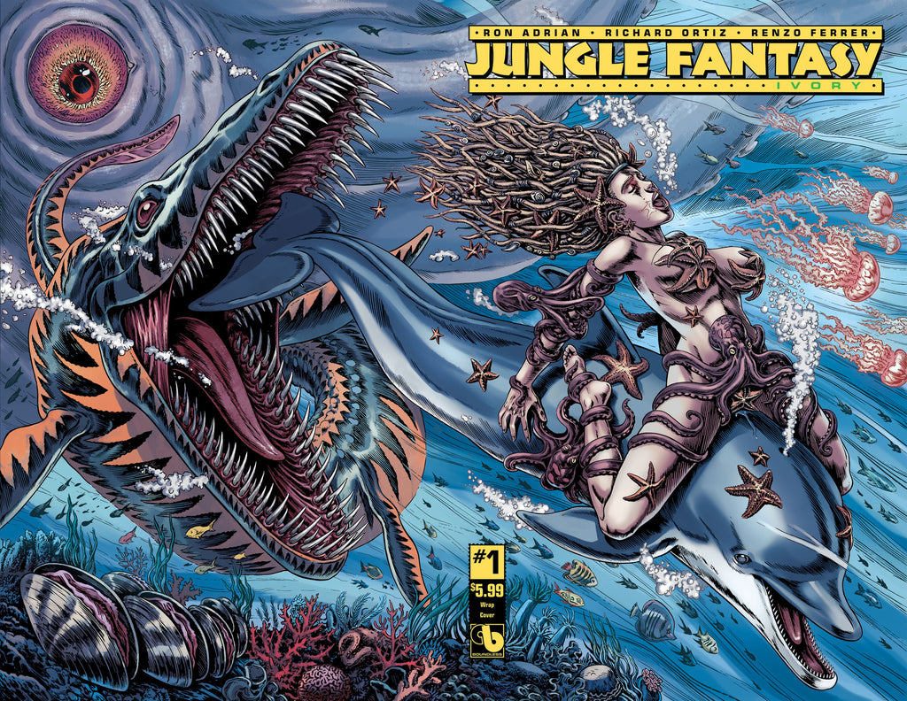 JUNGLE FANTASY: IVORY #1 Wraparound