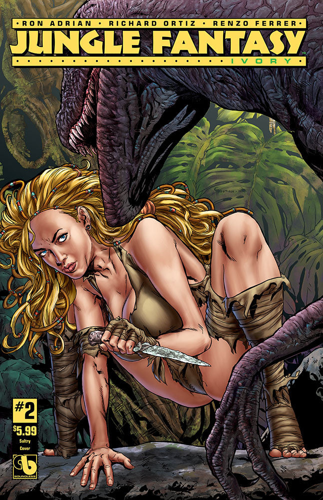 JUNGLE FANTASY: IVORY #2 Sultry