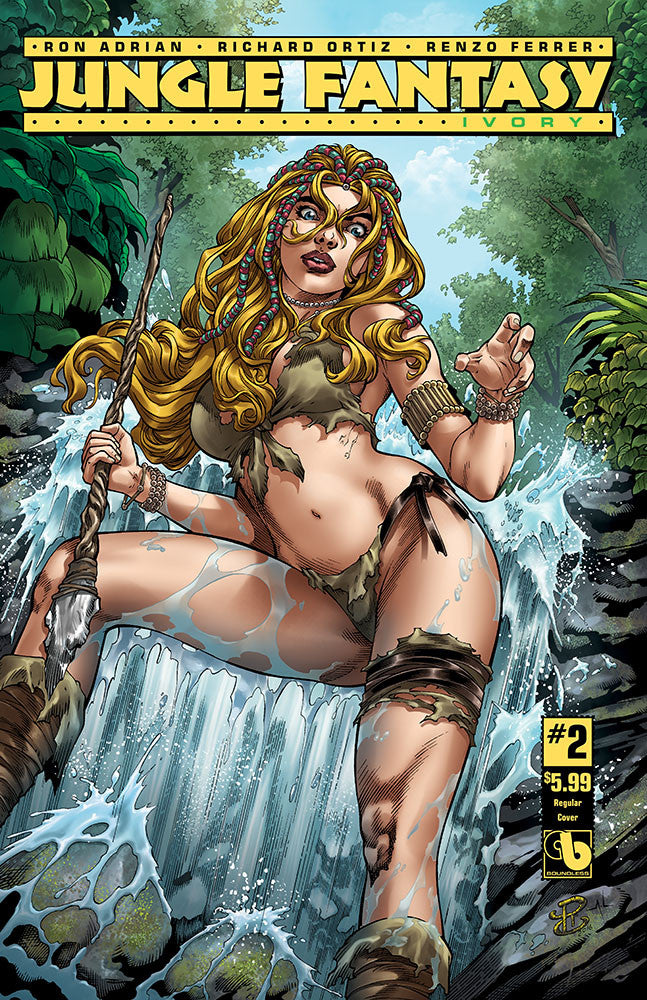 JUNGLE FANTASY: IVORY #2 - Digital Copy