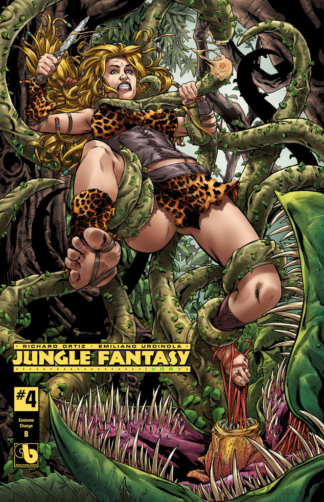 JUNGLE FANTASY: IVORY #4 Costume Change B
