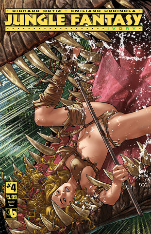 JUNGLE FANTASY: IVORY #4 - Digital Copy