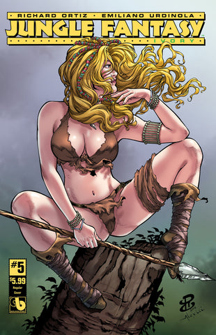 JUNGLE FANTASY: IVORY #5 - Digital Copy