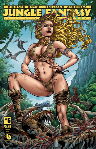 JUNGLE FANTASY: IVORY #6 - Digital Copy