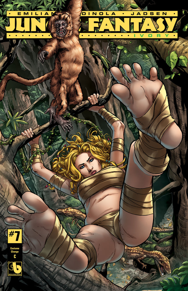 JUNGLE FANTASY: IVORY #7 Costume Change - cover C