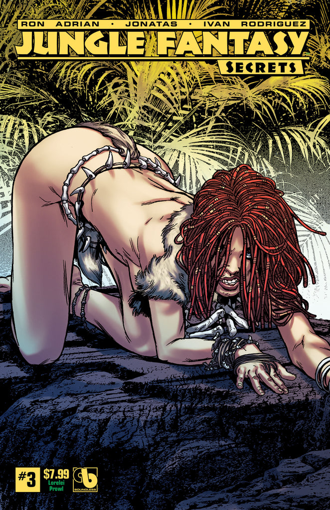 JUNGLE FANTASY: SECRETS #3 Lorelei Prowl