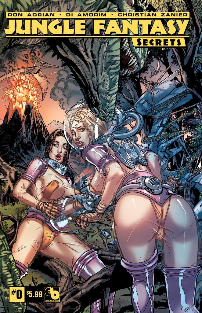 JUNGLE FANTASY: SECRETS #0 - Digital Copy