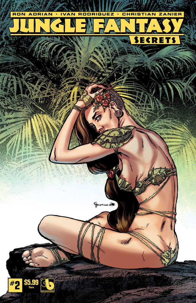 JUNGLE FANTASY: SECRETS #2 Flora