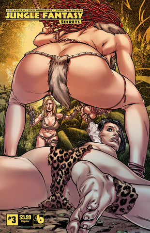 JUNGLE FANTASY: SECRETS #0,1,2,3,4 - Digital Subscription