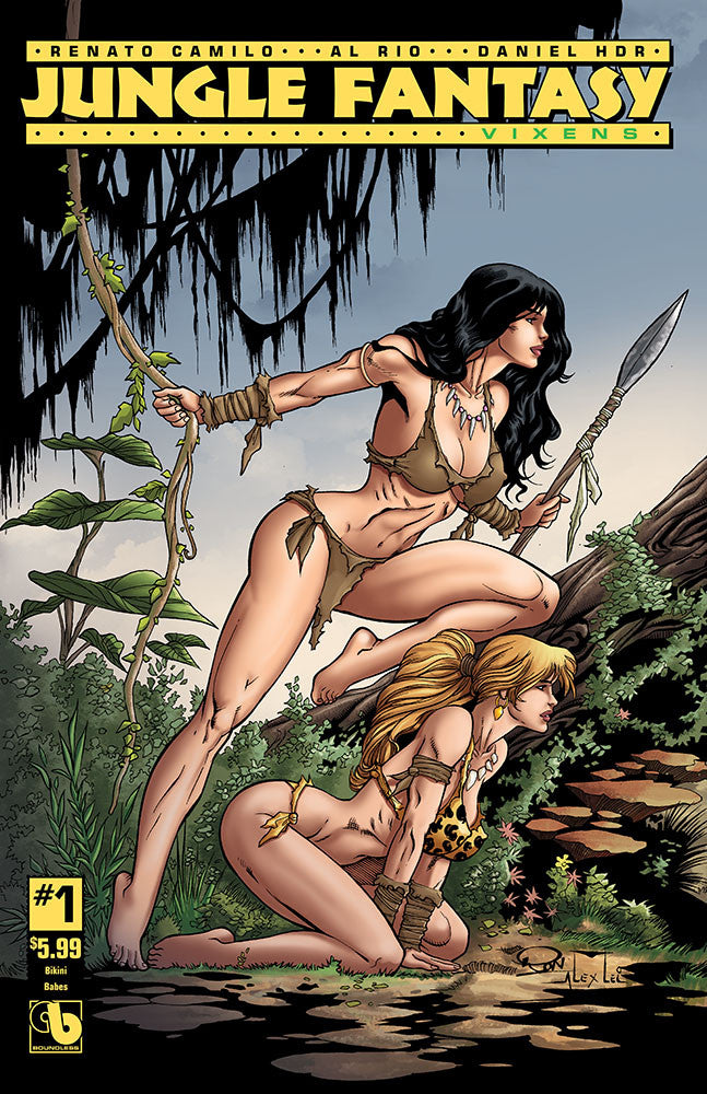 JUNGLE FANTASY: VIXENS #1 Bikini Babes