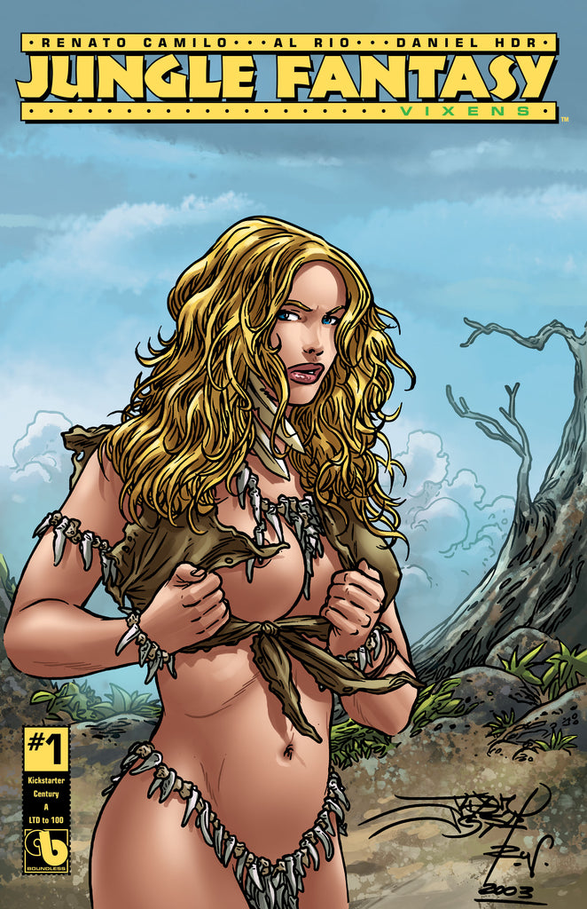 JUNGLE FANTASY: VIXENS #1 KS Century - cover A